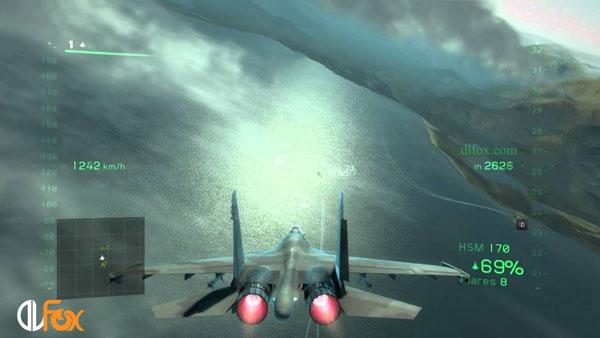 دانلود نسخه فشرده بازی Tom Clancy's H.A.W.X 2 برای PC
