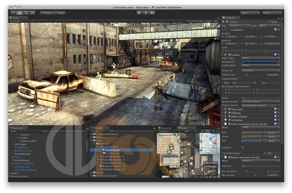 دانلود نرم افزار ساخت بازی یونیتی Unity Pro v5.5.0 P3