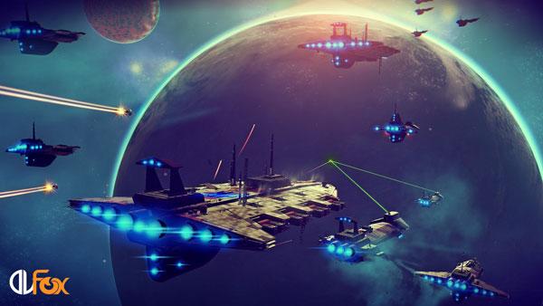 دانلود نسخه فشرده بازی NO MANS SKY برای PC