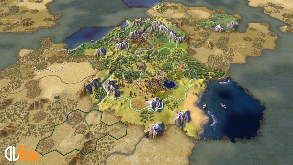 دانلود نسخه فشرده بازی SID MEIER'S CIVILIZATION 6 برای PC