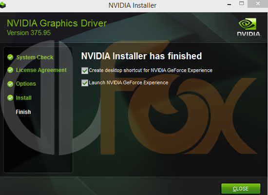 GeForce driver version 376.09 – درایور کارت گرافیک انویدیا