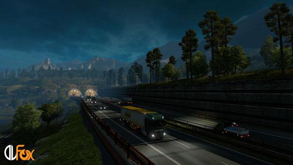 دانلود نسخه فشرده بازی EURO TRUCK SIMULATOR 2 برای PC