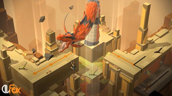 دانلود نسخه فشرده بازی LARA CROFT GO برای PC