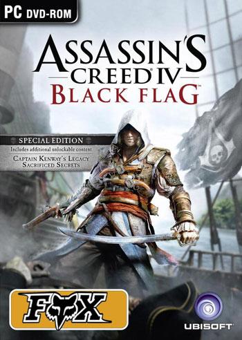 دانلود بازی ASSASSINS CREED IV BLACK FLAG 2013 Reloaded