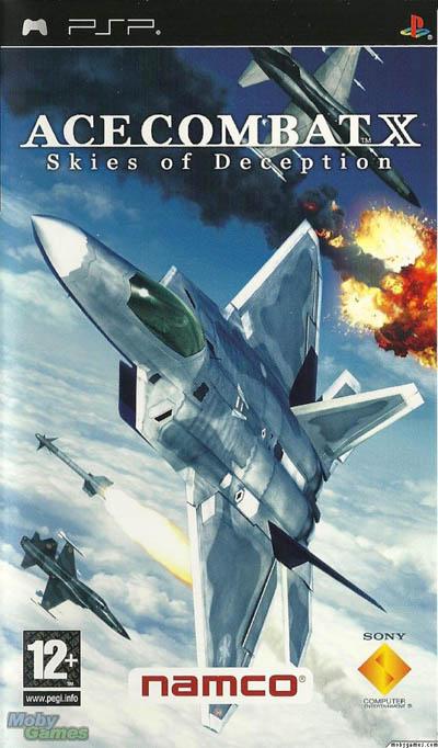 دانلود بازی پی اس پی Ace Combat X Skies of Deception PSP
