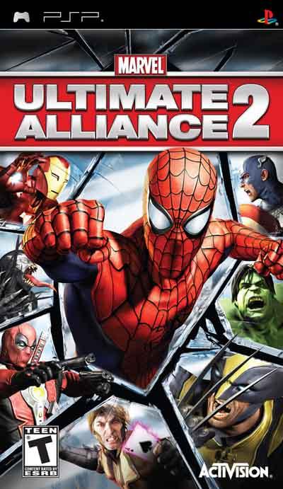 دانلود بازی پی اس پی Marvel Ultimate Alliance 2 PSP