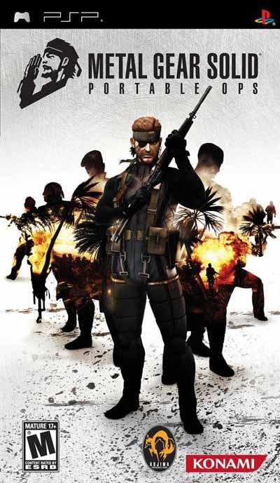 دانلود بازی پی اس پی Metal Gear Portable Ops PSP