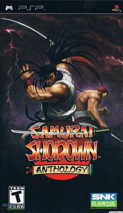 دانلود بازی پی اس پی Samurai Shodown psp