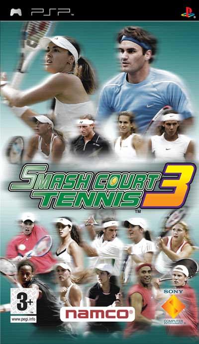 دانلود بازی پی اس پی Smash Court Tennis 3 psp