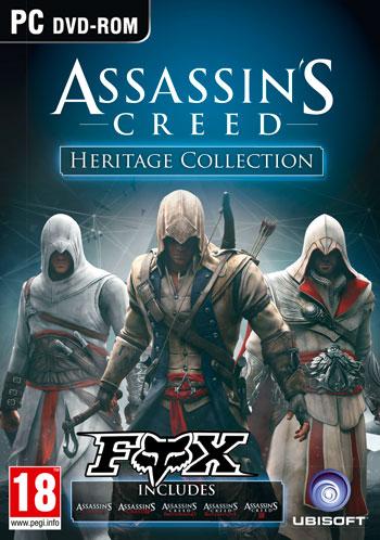 کلکسیون بازی Assassin's Creed برای کامپیوتر نسخه فشرده
