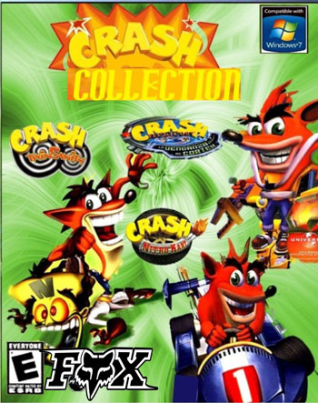 کلکسیون بازی Crash برای کامپیوتر