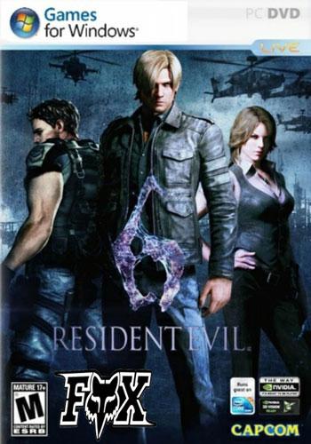 دانلود نسخه فشرده بازی Rezident  Evil 6 برای کامپیوتر