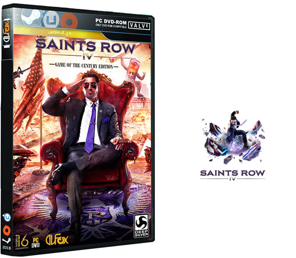 دانلود نسخه فشرده بازی Saints Row IV برای PC