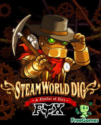 دانلود نسخه فشرده بازی SteamWorld Dig