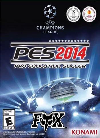 دانلود نسخه BlackBox بازی PES 2014