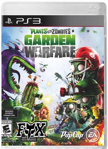 دانلود بازی Plants vs Zombies:Garden Warfare برای PS3