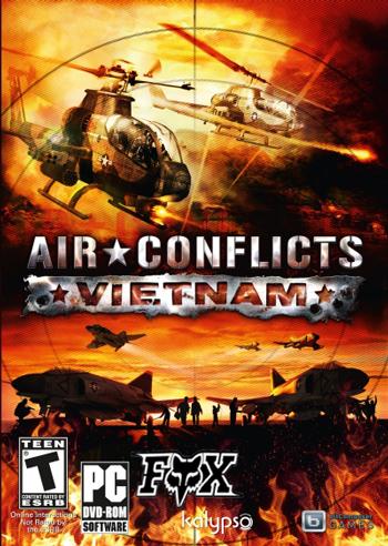 دانلود نسخه فشرده بازی Air Conflicts Vietnam برای کامپیوتر