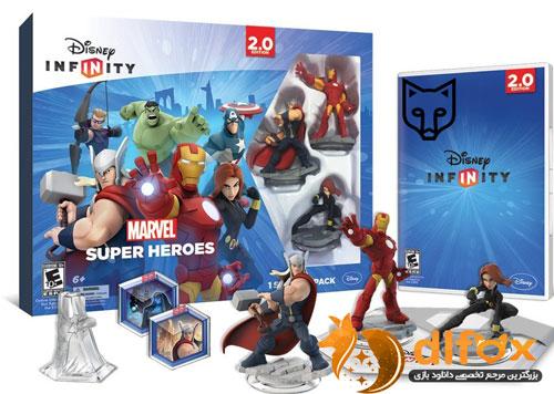 دانلود بازی Disney Infinity Marvel Super Heroes برای PS3