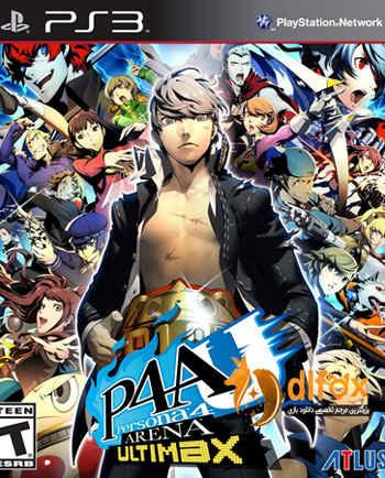 دانلود بازی Persona 4 Arena Ultimax برای PS3