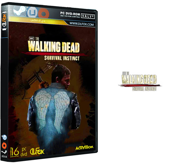 دانلود نسخه فشرده بازی THE WALKING DEAD SURVIVAL برای PC