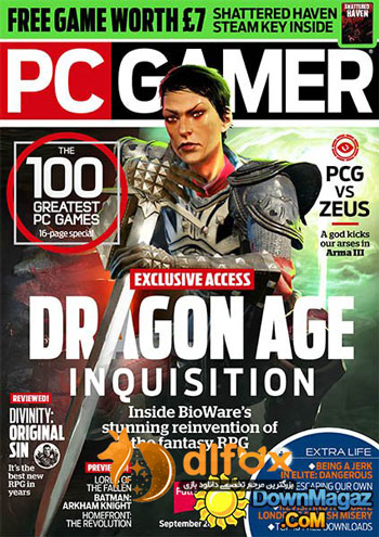 شماره جدید مجله PC Gamer UK