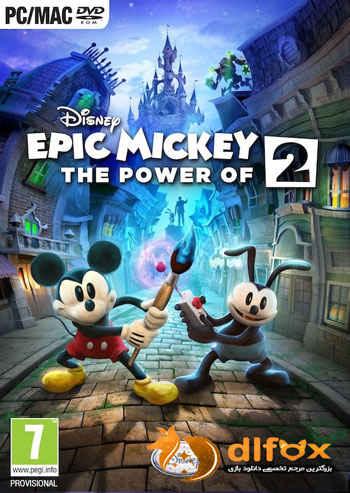 دانلود بازی Epic Mickey 2 The Power of Two برای PC