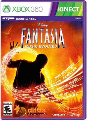 دانلود بازی Disney Fantasia Music Evolved برای XBOX360