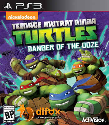 دانلود بازی TMNT-Danger of the Oozeبرای PS3