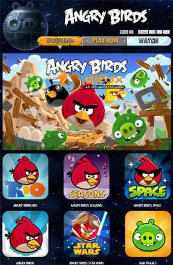 مجموعه بازی Angry Birds به همراه آپدیت ۲۰۱۴