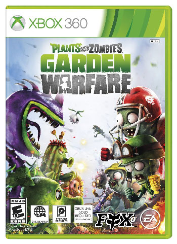 دانلود بازی Plants vs Zombies Garden Warfare برای XBOX360