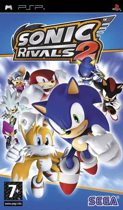 دانلود بازی سونیک Sonic Rivals 2 PSP کنسول پی اس پی