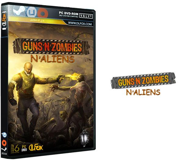 دانلود بازی GUNS N ZOMBIES N ALIENS-HI2U برای PC