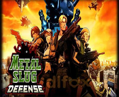 نسخه نامحدود بازی Metal Slug Defense برای اندروید