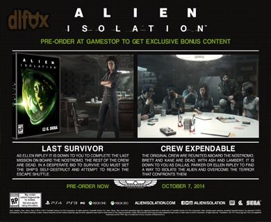 دانلود DLC جدید Safe Haven برای بازی Alien Isolation