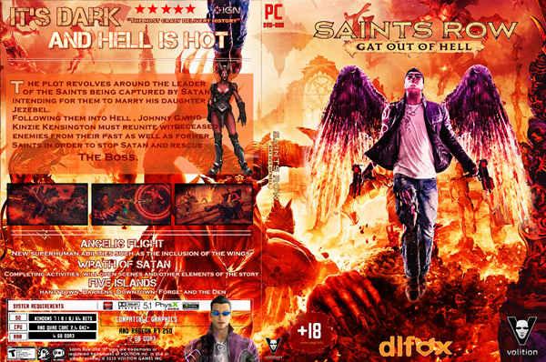 دانلود بازی Saints Row: Gat Out of Hell برای PS3