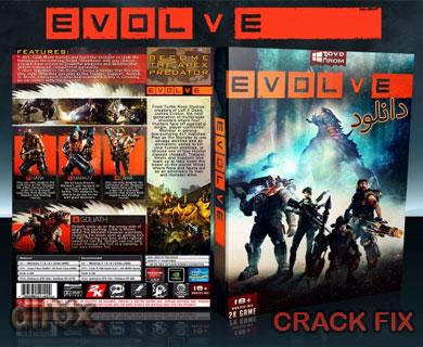 کرک FIX بازی Evolve برای PC