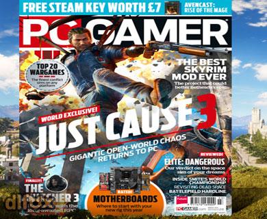 مجله بازی PC Gamer