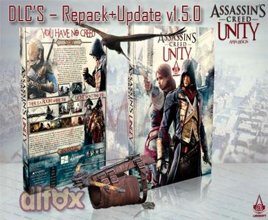 دانلود نسخه فشرده ASSASSINS CREED UNITY UP V1.5+DLC'S