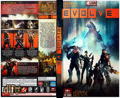 دانلود کاور بازی Evolve