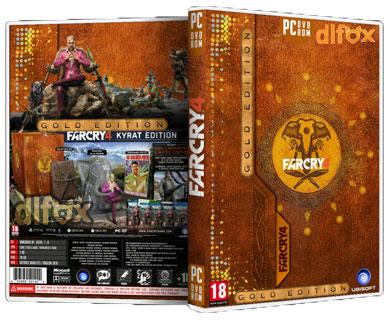 نسخه فشرده بازی FarCry 4 Gold Edition برایPC