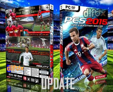 آپدیت DataPack v4.0 بازیPro Evolution Soccer 2015