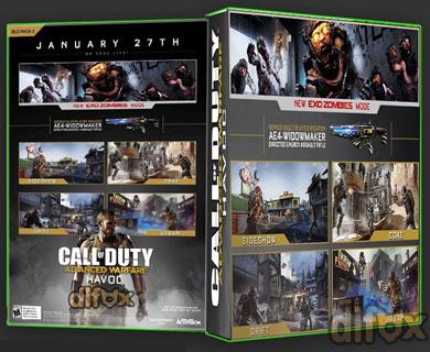 دانلود DLC جدید Havoc بازی Call of Duty: Advanced Warfare برای PS3