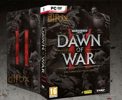 دانلود نسخه CompleteبازیWarhammer 40.000 Dawn of War II برایPC
