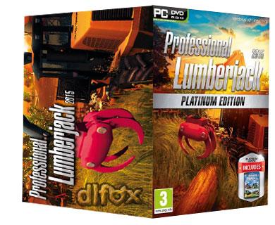 دانلود بازی شبیه سازی Professional Lumberjack 2015برای PC