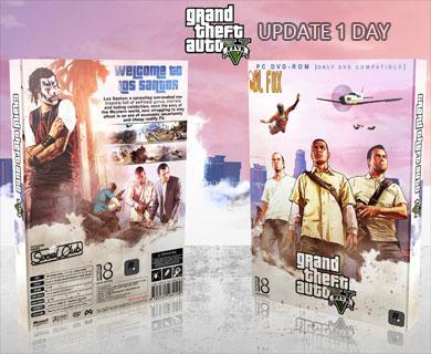 دانلود DAY 1 UPDATE بازی GTA V برای PC