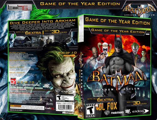 نسخه Year Edition بازی Batman Arkham Asylum برای PC