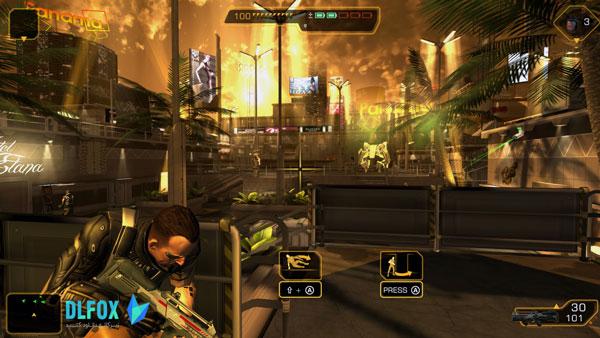 دانلود نسخه فشرده بازی De-us Ex: The Fall برای PC