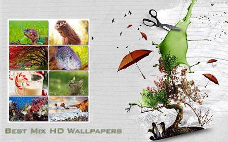 دانلود BestMix HD Wallpapers برای PC