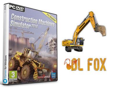 دانلود بازی Construction Machines Simulator 2016 برای PC