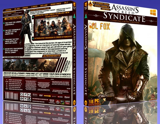 دانلود تم بازی Assassin's Creed Syndicate برای ویندوز 7 و 8 و 8.1